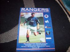 Rangers v Raith Rovers, 1995/96